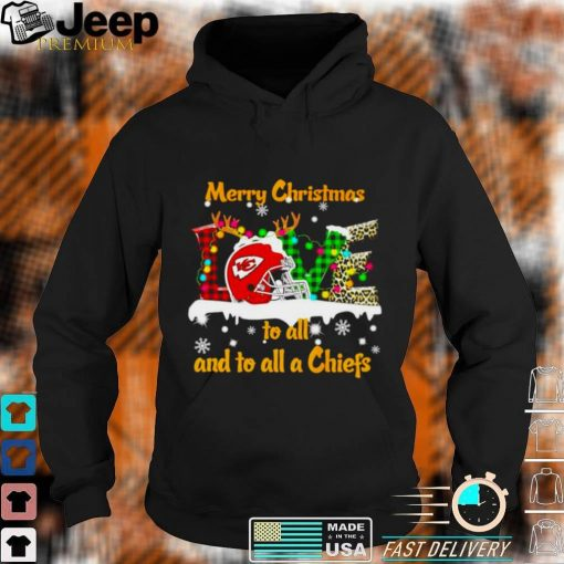 Merry Christmas to all and to all a Chief love shirt