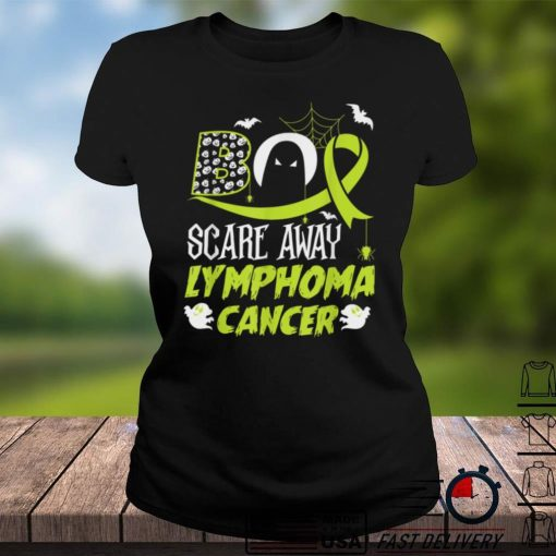 Scare away Lymphoma Cancer scary Halloween costumes T Shirt