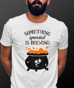 Something Good Is Brewing Maternity Halloween Pregnancy T Shirt