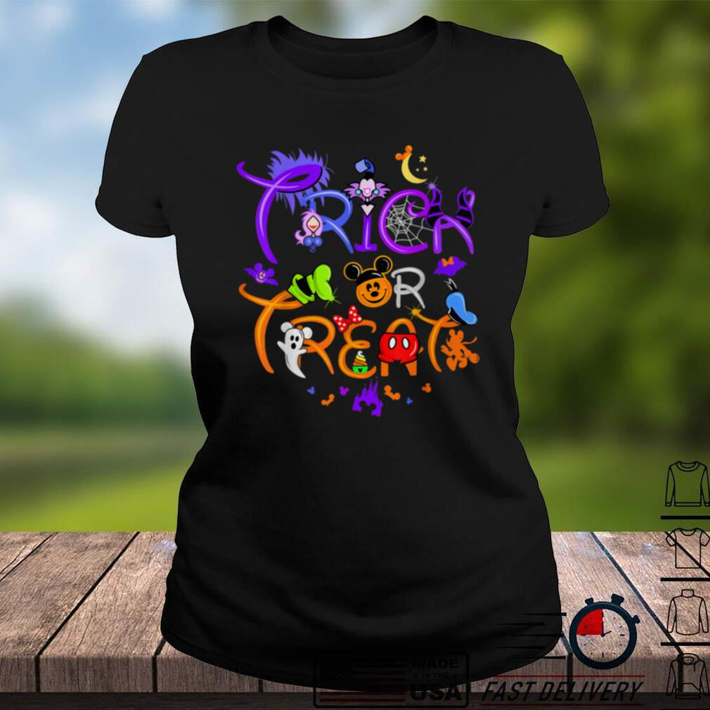 Trick or Treat Down Main Street Funny Halloween For Kid T Shirt