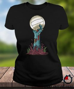 Zombie Hands Volleyball Funny Halloween Horror Scary Costume T Shirt