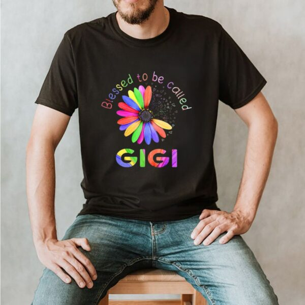 Blessed To Be Called Gigi Hippie shirt 2 1