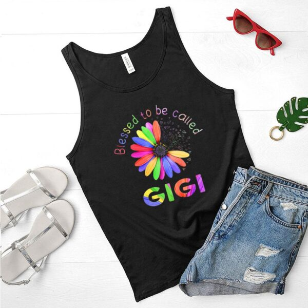 Blessed To Be Called Gigi Hippie shirt 3 1