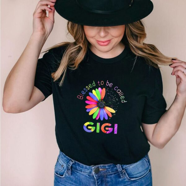 Blessed To Be Called Gigi Hippie shirt 4 1