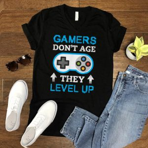 Gamers Don't Age They Level Up T Shirt