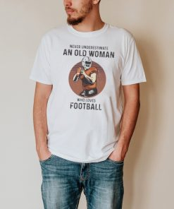 Never underestimate an old woman who loves football shirt