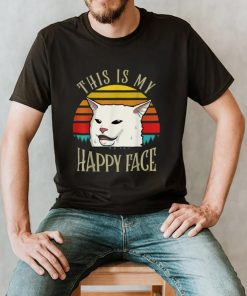 This Is My Happy Face Smudge The Cat T Shirt